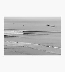 Impossible Line Up, Bali, Indonesia  Photographic Print