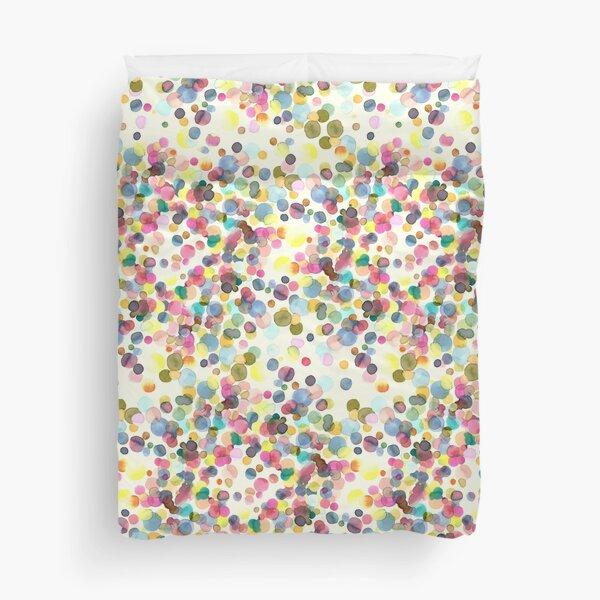 Color drops Duvet Cover