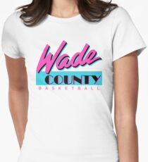 Wade County Basketball Women's Fitted T-Shirt