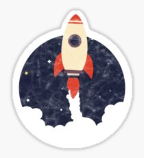 Little Rocket Sticker