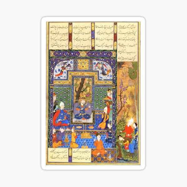 Shahnameh 1st  Design  Sticker