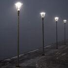 Winter lights by Julia Pärnänen