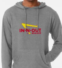 In-N-Out Sticker Lightweight Hoodie