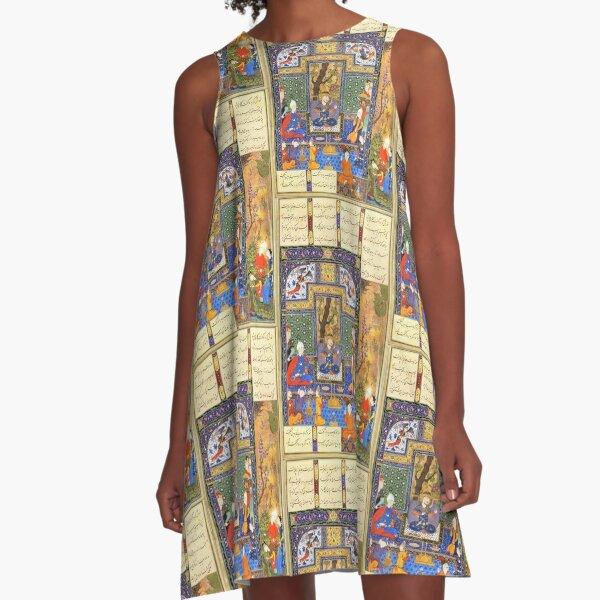 Shahnameh 1st  Design  A-Line Dress