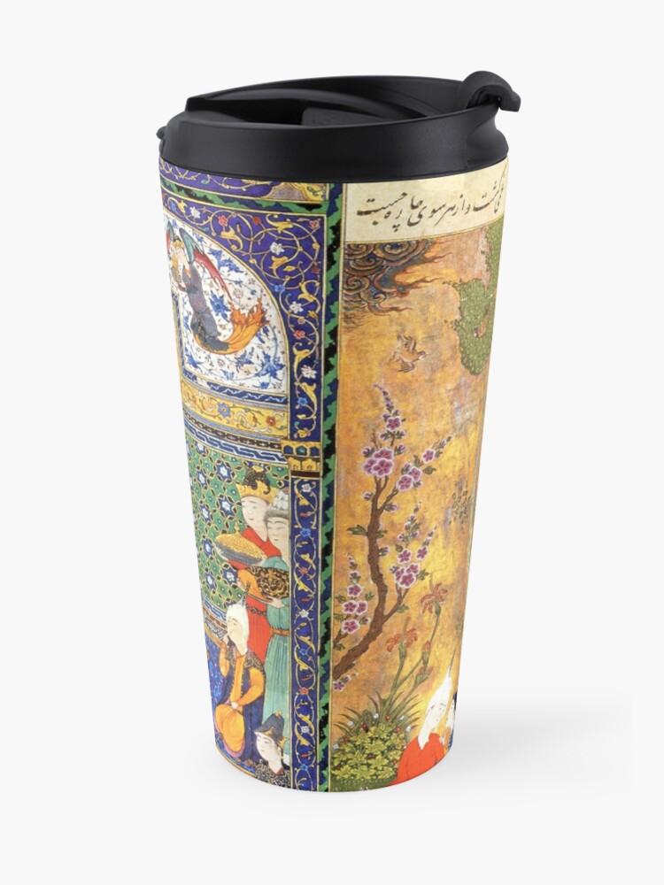 Alternate view of Shahnameh 1st  Design  Travel Mug