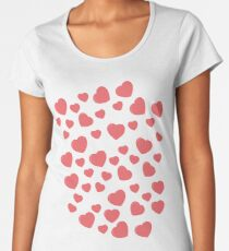 hearts Women's Premium T-Shirt