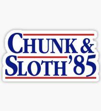 Die Goonies Funny Chunk und Sloth Wahl Sticker