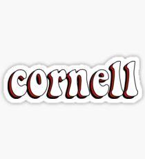 Cornell Retro Sticker