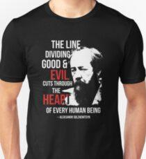 Lesen Sie das Gulag-Archipel und sortieren Sie sich aus Unisex T-Shirt