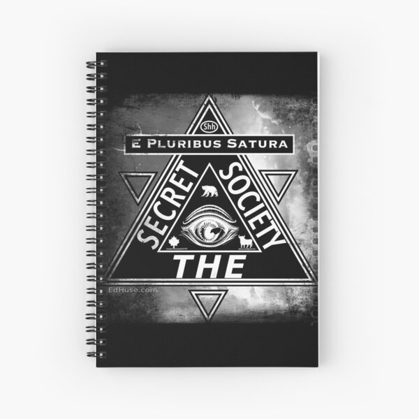 THE Secret Society Obscura 1 Spiral Notebook
