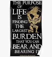 Find your Burden Poster