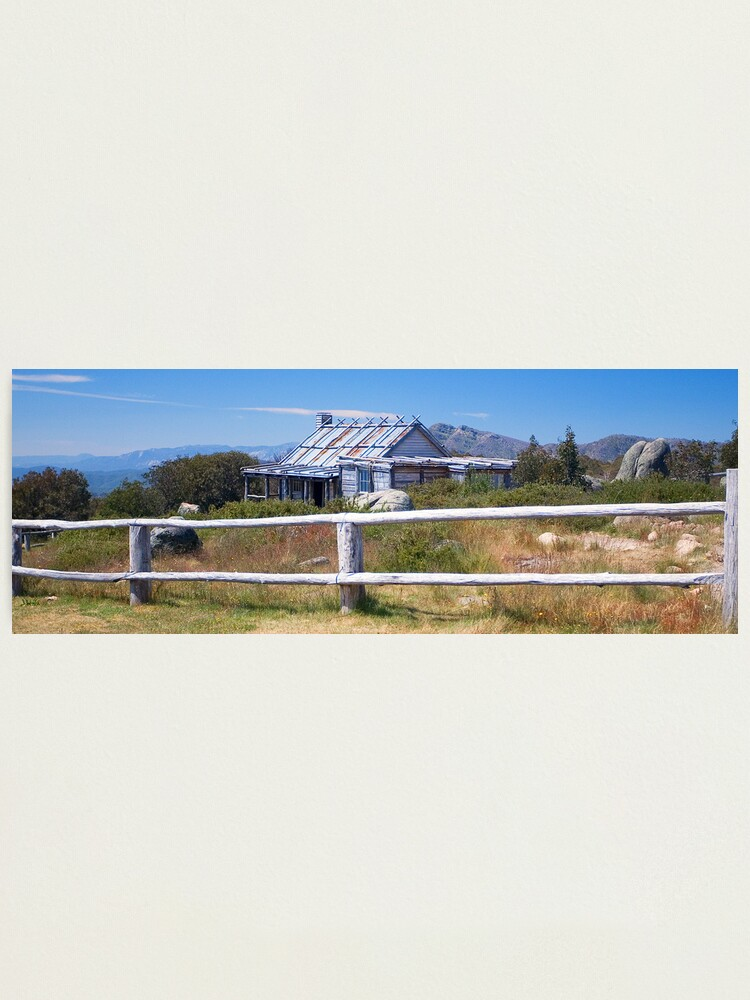 Alternate view of Craig's Hut, Australian Alps Photographic Print