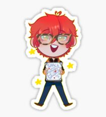 """Mystic Messenger: """"My Hearts Off To You"""" - 707 Sticker"""