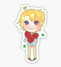 """Mystic Messenger: """"My Hearts Off To You"""" -  Yoosung Sticker"""