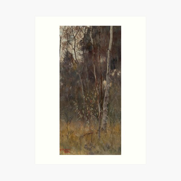 At the Falling of the Year by Frederick McCubbin Art Print