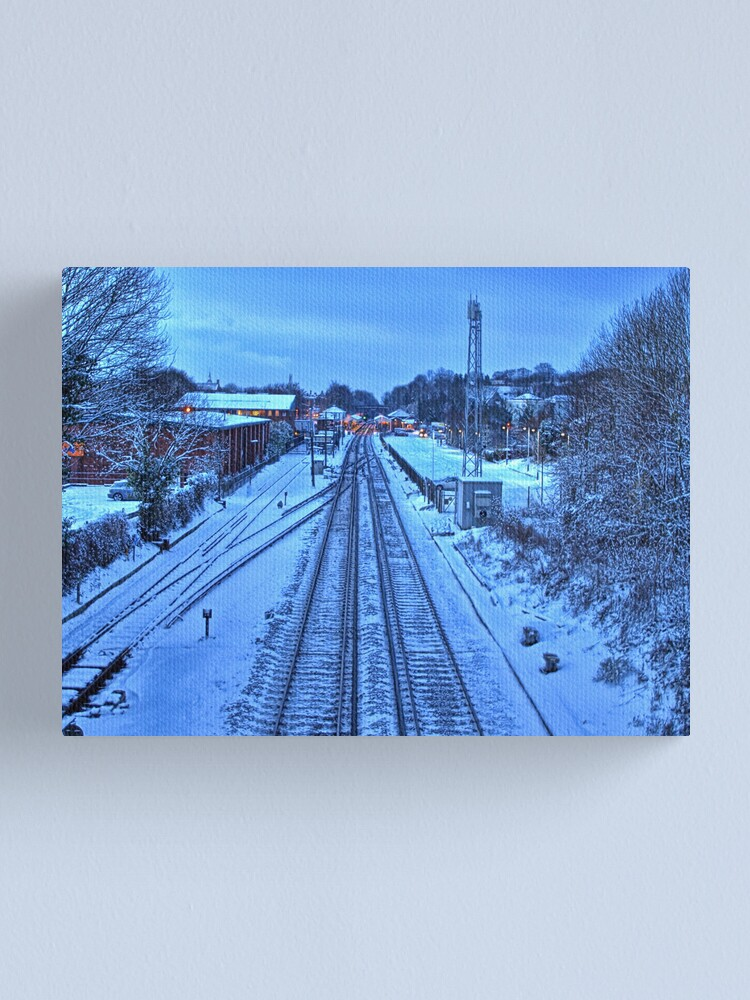 Alternate view of Snow Train to Nowhere Canvas Print