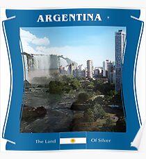 Argentinien - Das Land von Silber Poster