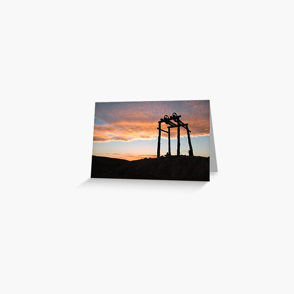 Water Whip Greeting Card