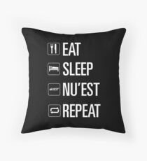 Nuest only Throw Pillow