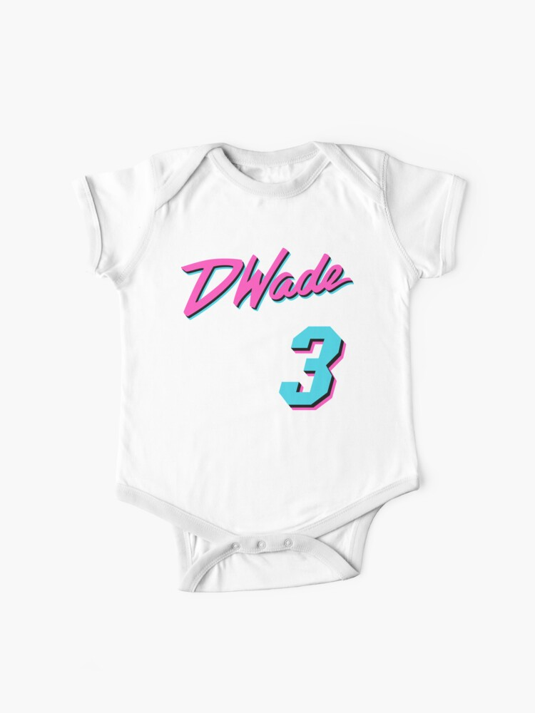 buy online adfd1 f310d Vice Wade Jersey Script 1 | Baby One-Piece
