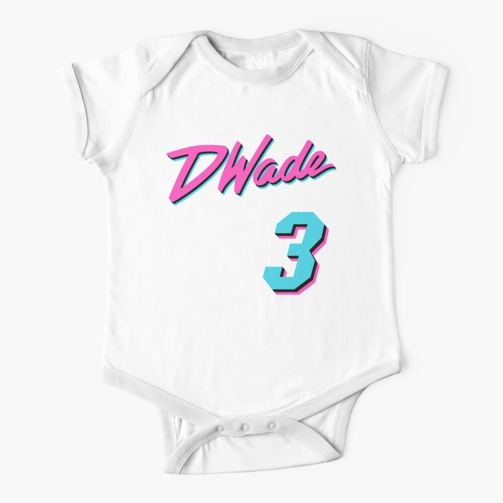 Vice Wade Jersey Script 1 Baby One-Piece