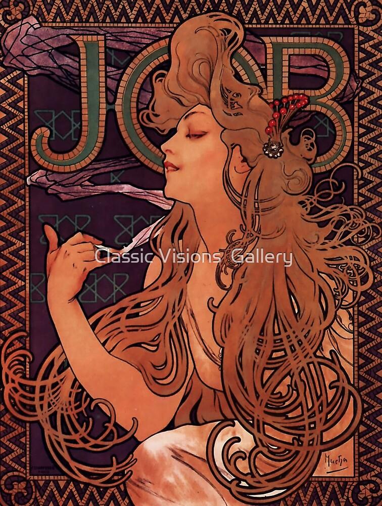 'Job' by Alphonse Mucha (Reproduction) by Roz Abellera