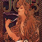 'Job' by Alphonse Mucha (Reproduction) by Roz Abellera