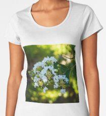White crepe myrtle Women's Premium T-Shirt