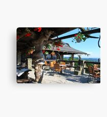 "Restaurants ""Zbojnicka Chata"" - Poland  Canvas Print"