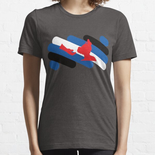 Pup and Handler Pride Flag Essential T-Shirt