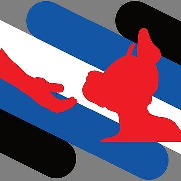 Pup and Handler Pride Flag by NerdyDoggo