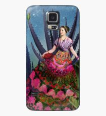 Blue Agave and Cocoa Case/Skin for Samsung Galaxy