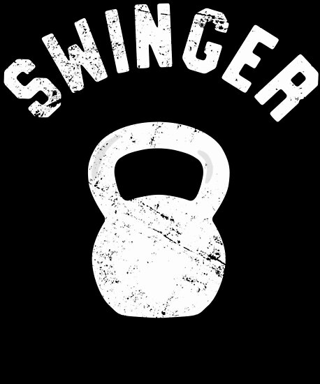 Swinger Funny Kettlebell Workout Pun By 14th Floor Apparel