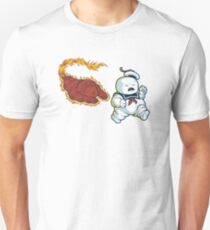 RUN MARSHMALLOW MAN - 0292 Unisex T-Shirt