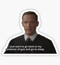 The Good Place Male Judge Sticker