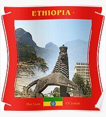 Äthiopien - Der Löwe von Juda Poster