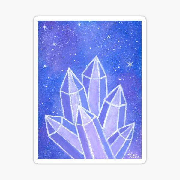 Crystalline Growth Sticker