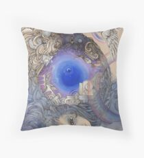 The Metaphysical Head Throw Pillow