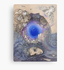 The Metaphysical Head Metal Print