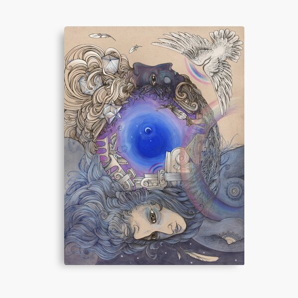The Metaphysical Head Canvas Print