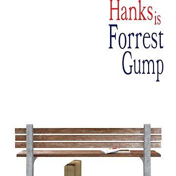 hanks is fgump by AstGuilmette77