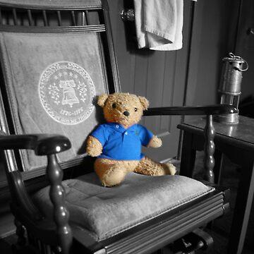 Ted in Blue by eelsblueEllen