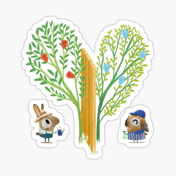 Love Grows Sticker