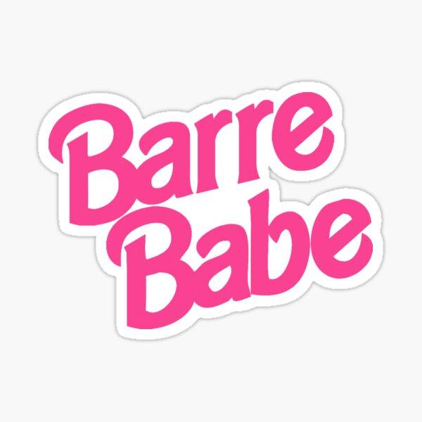 '90s Barbie Barre Babe Tank Top Tshirt Sticker