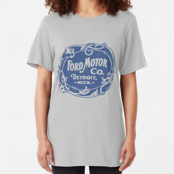 Classic Ford Motor Co. Slim Fit T-Shirt