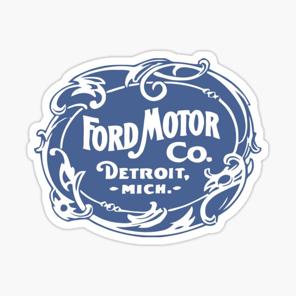 Klassische Ford Motor Co. Sticker