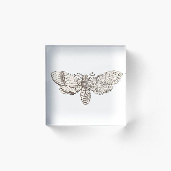death head moth scifi Acrylic Block