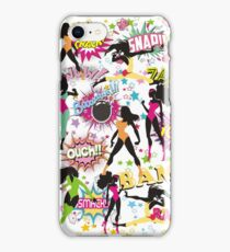 girl power sexy superhero comic women iPhone Case/Skin