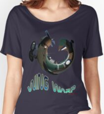 CAC Wirraway Wing Warp T-shirt Design Women's Relaxed Fit T-Shirt