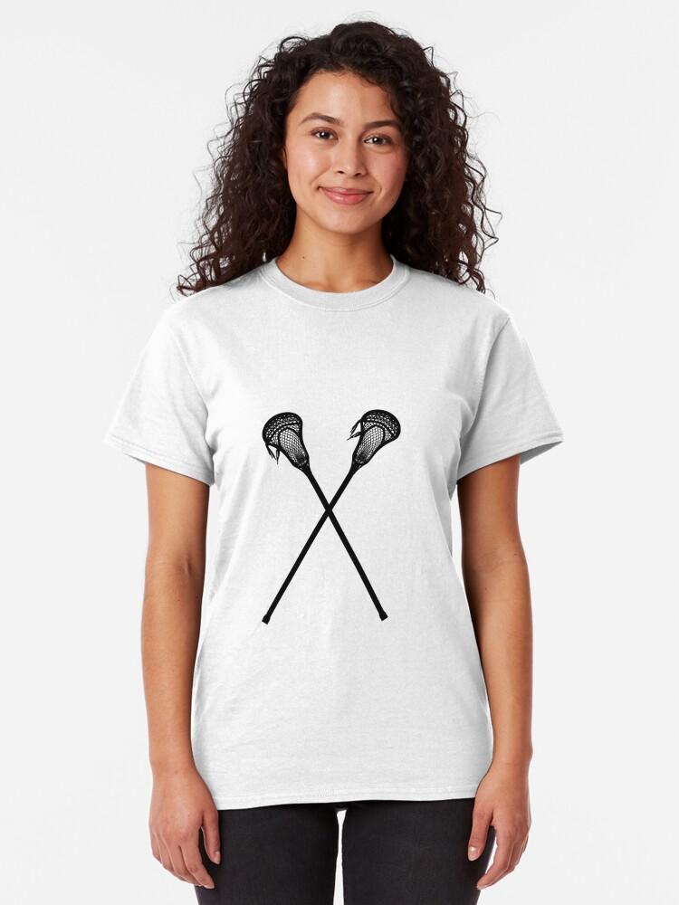 Alternative Ansicht von Lacrosse-Stöcke Classic T-Shirt
